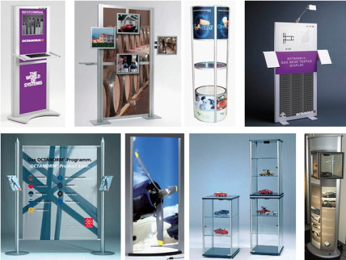 display & presentation - pos display, media & vitrines