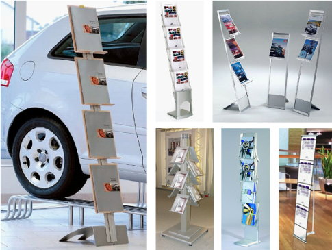 display & presentation - brochure display stands